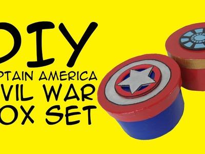 DIY Captain America Civil War Box Set: Crafty McFangirl Tutorial