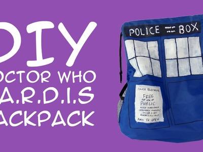 DIY Doctor Who TARDIS Backpack: Crafty McFangirl Tutorial