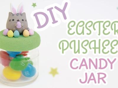 DIY Easter Pusheen Candy Jar | Polymer Clay Tutorial