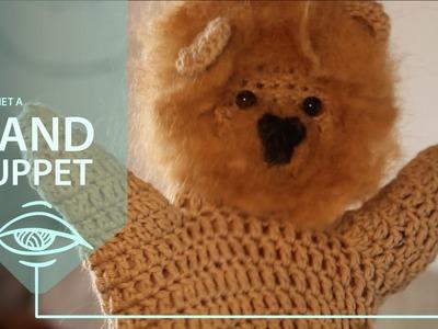 Crochet a Hand Puppet   Featuring Linus the Lion
