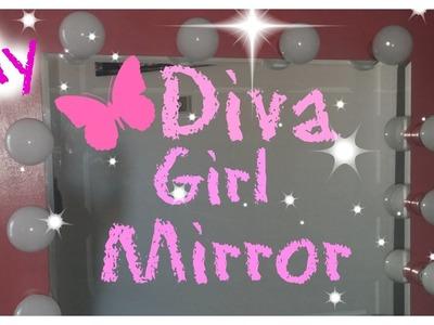 DIY Hollywood Vanity Mirror for under $100