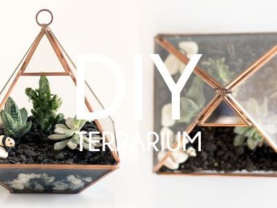 DIY Terrarium | Tumblr Plant Decor