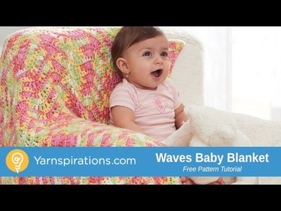 How To Crochet a Baby Blanket: Waves