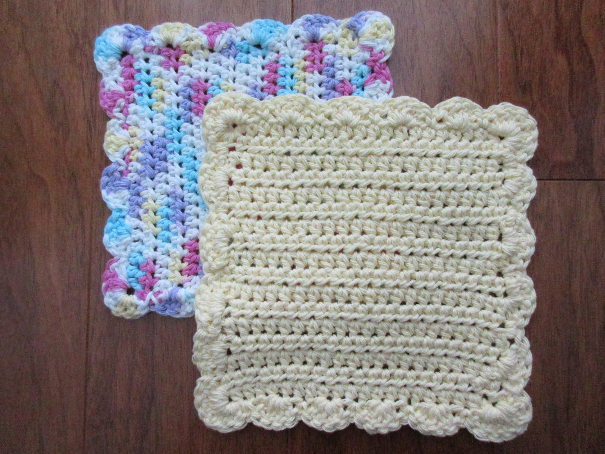 how to draw a dishcloth