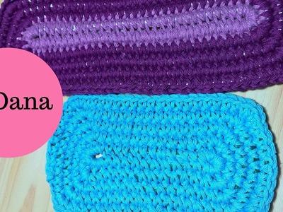 Rope Crochet rectangular shape