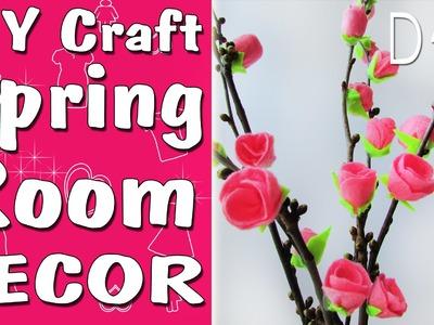 Spring room decor DIY tutorial