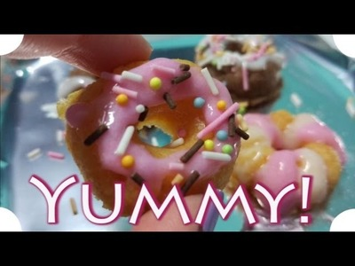 ASMR Spanish | Japanese Mini Donuts | Making DIY Kit Popin Cookin Donuts Kracie | Whispers