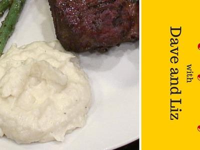 Creamy Mashed Cauliflower - How to Make Mashed Cauliflower - Instructional Video