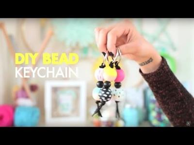 DIY Beaded Keychain