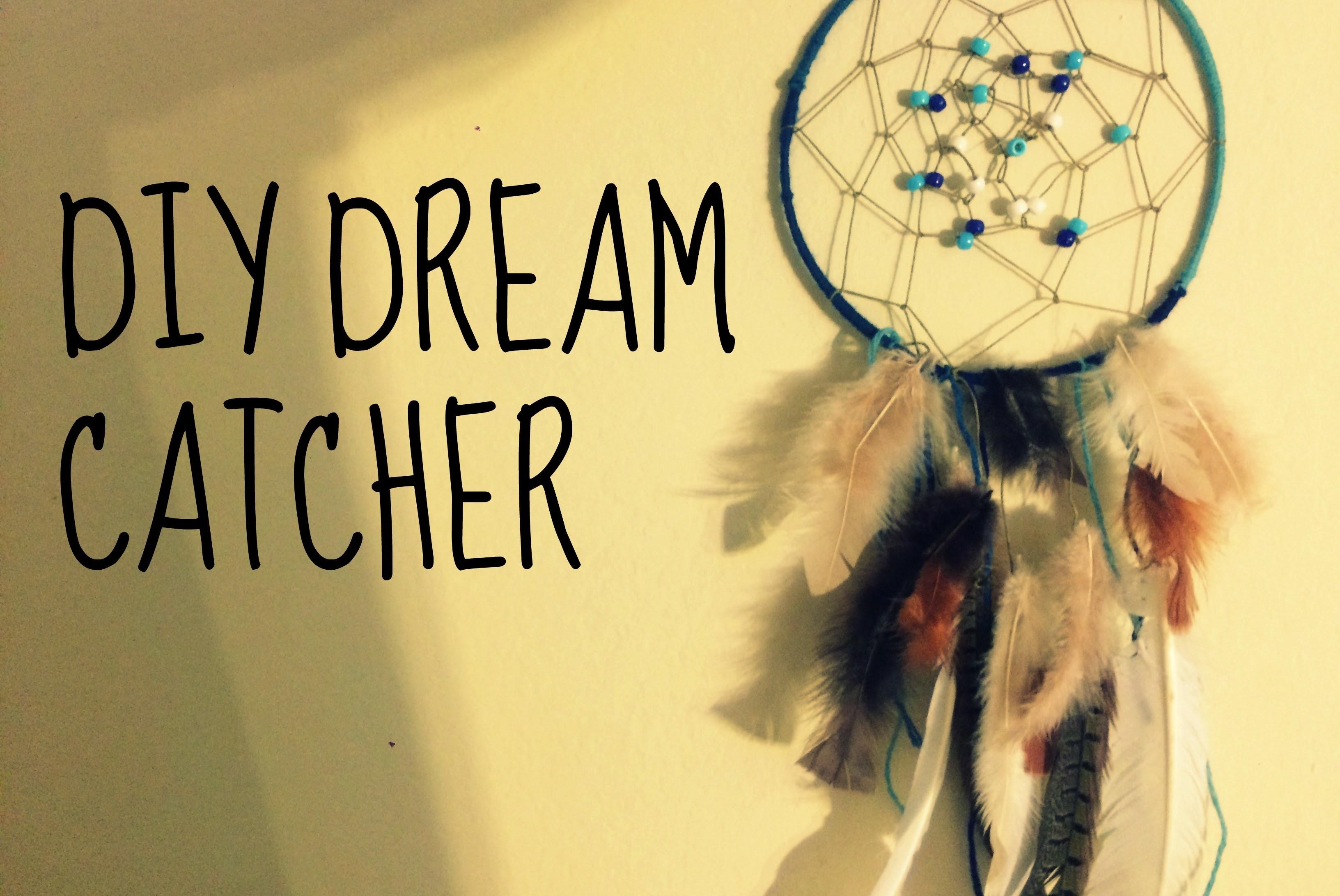 DIY Dream Catcher. How to make a dreamcatcher at home
