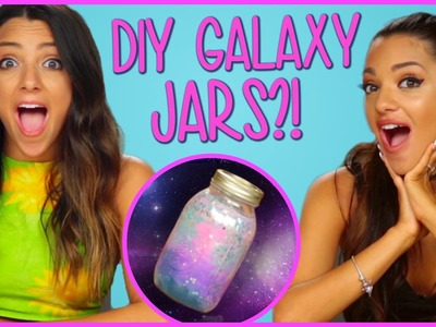 DIY GALAXY JARS?! | Niki and Gabi DIY or DI-Don't