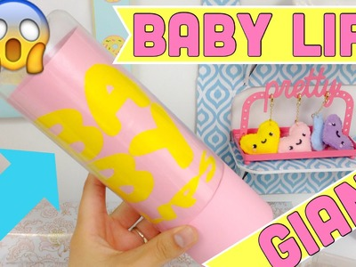 DIY GIANT BABY LIPS,easy crafts