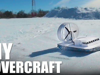 DIY Hovercraft - One Day Projects For Snow | Flite Test