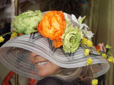 DIY How to Make & Create a Kentucky Derby Hat!