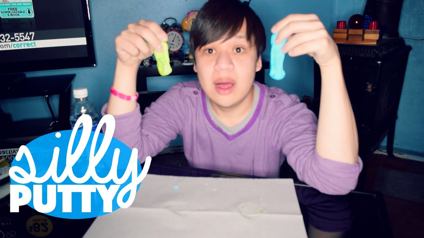 DIY Neon Silly Putty   How to make Silly putty with hand soap