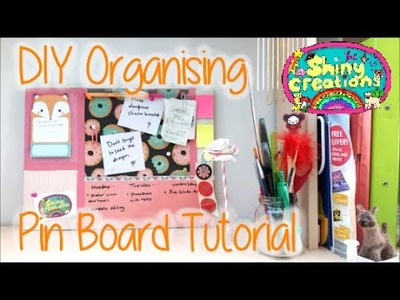 DIY Organising Pin Board Tutorial