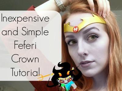 Easy DIY Feferi Crown \ Tiara Tutorial | Homestuck Cosplay