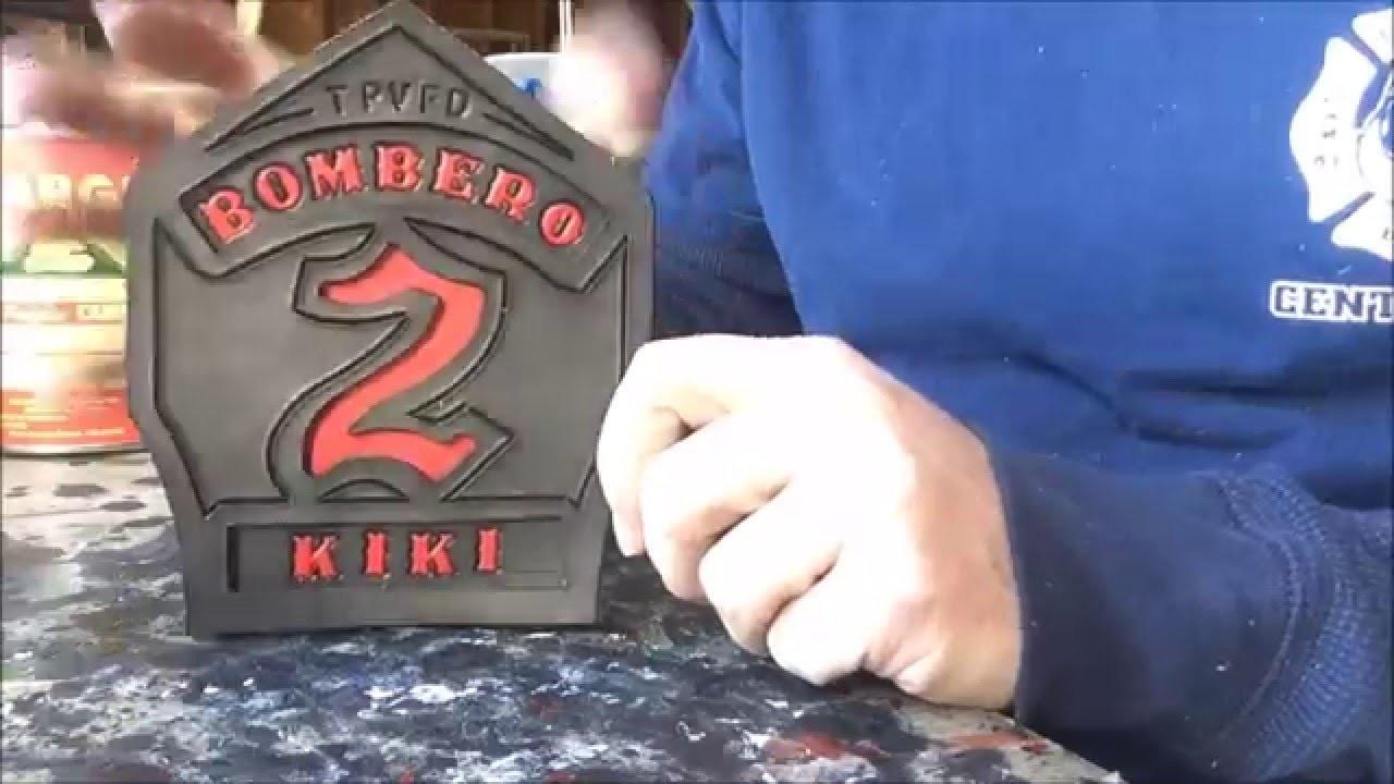 Fire Helmet Shields - How to Make a Firefighter Helmet Front