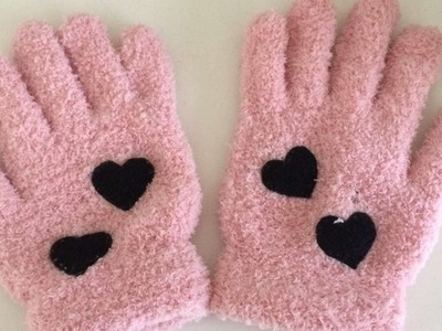 How To Create Stylish Heart Gloves - DIY Crafts Tutorial - Guidecentral