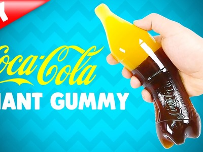 How To Make Giant Gummy Cola Bottle !! DIY Coca-cola Jelly