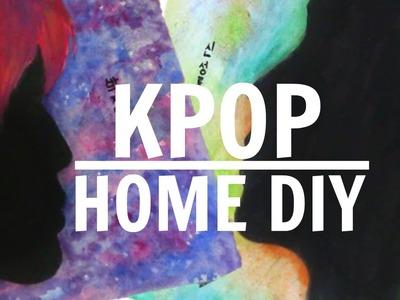 KPOP HOME DIY [Park Jimin (BTS) & Shin Sungrok Painting]