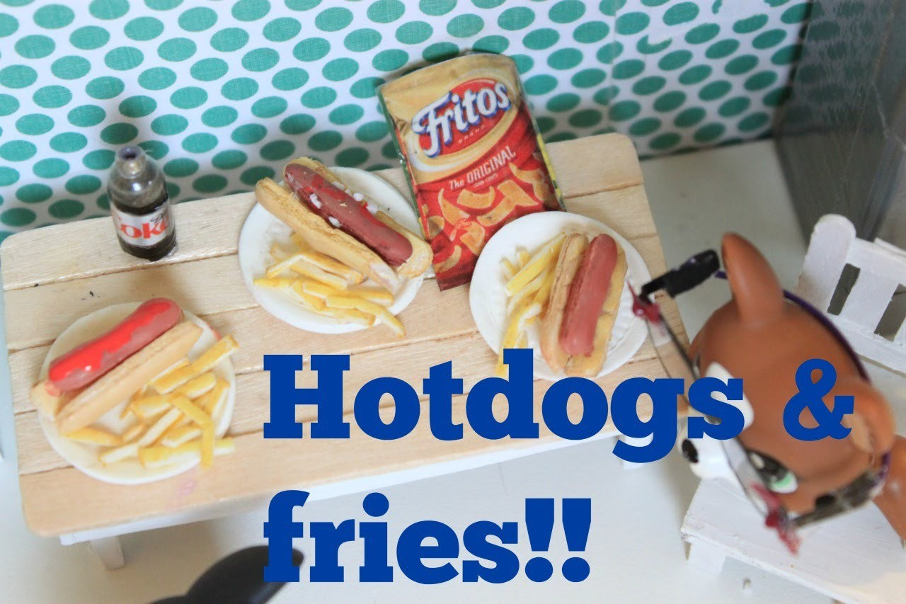 Lps Diy Hotdog And Fries