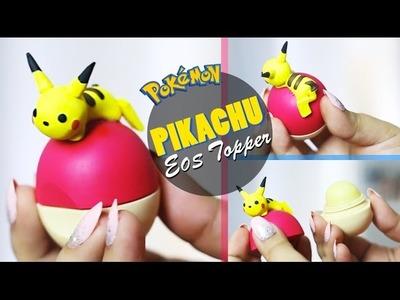 Pikachu EOS Topper | DIY Pokémon EOS | Polymer Clay Tutorial