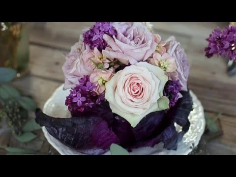 The Easiest DIY Cabbage Centerpiece for your table