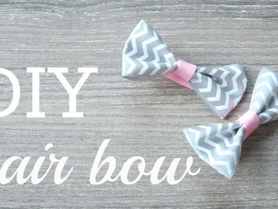 DIY #1-Hair Bow Tutorial!!!