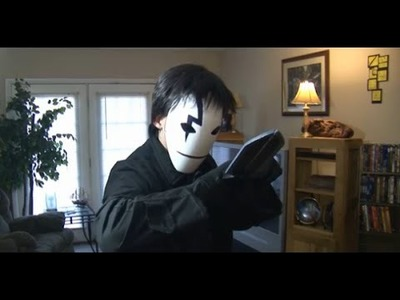 DIY Black Reaper Mask & Knife from Darker than Black