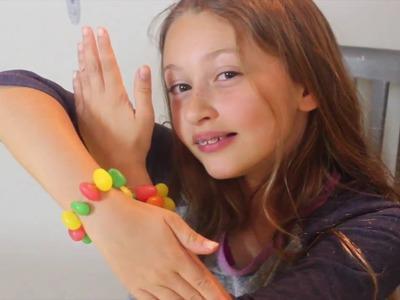 DIY Bracelet With Jelly Beans