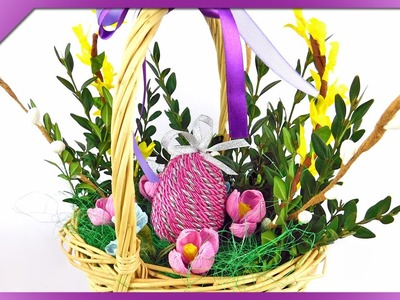 DIY Easter decoration (ENG Subtitles) - Speed up #190