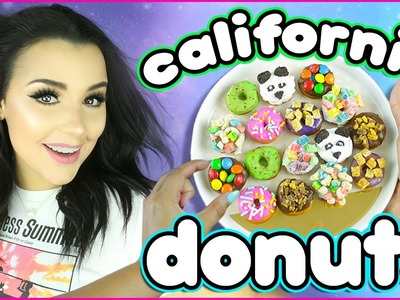 DIY Miniature California Donuts! | How To Make Bite Sized Donuts!