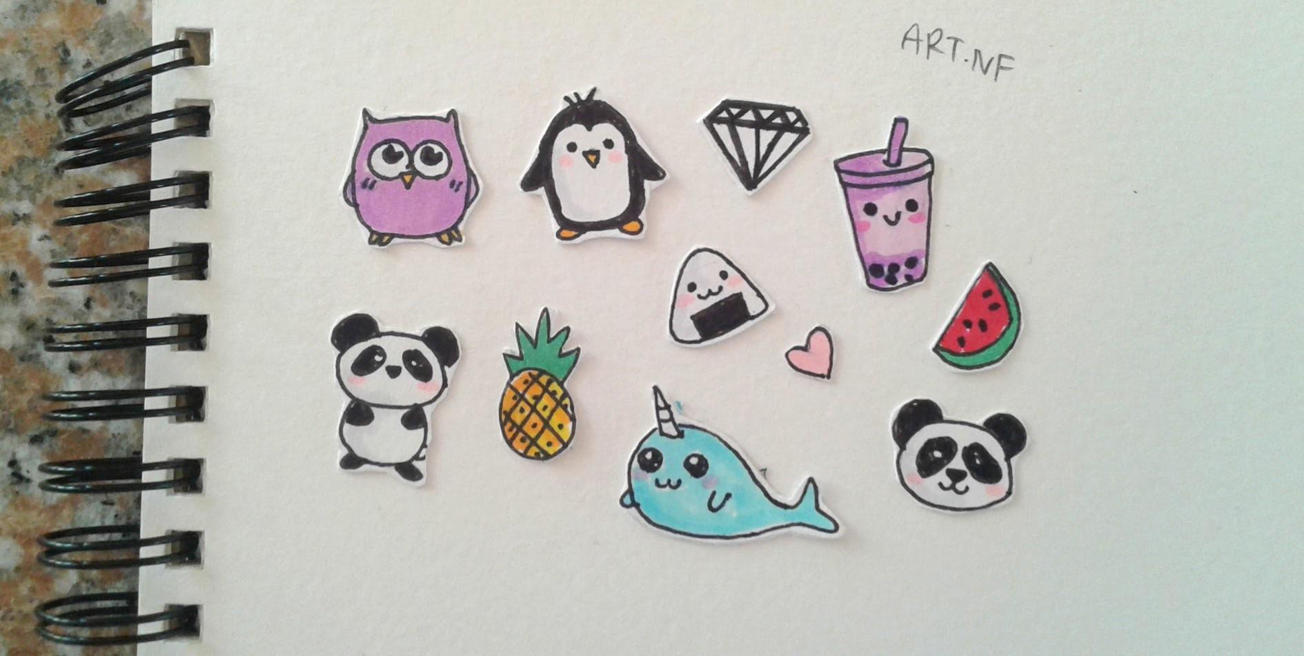 Diy Tumblr Stickers Drawings