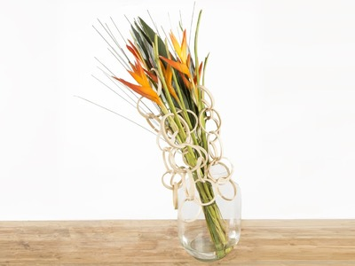 Heliconia's Olympic Torch | Flower Factor How To | Flower Arrangement