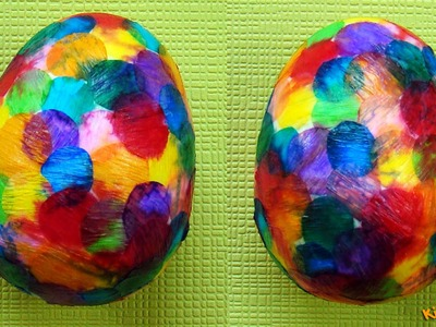 How to Decorate Styrofoam Eggs? DIY