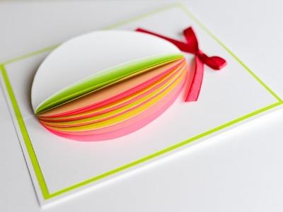 How to Make - Easter Egg Greeting Card - Step by Step | Kartka Wielkanocna