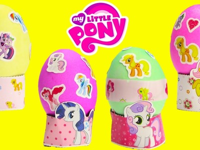 How to Make My Little Pony Easter Eggs