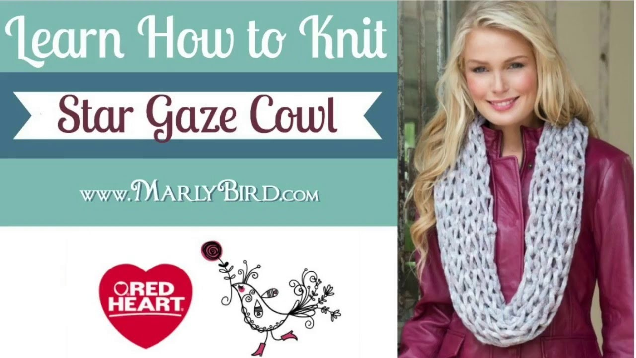 Learn How to Knit the Star Gaze Cowl with Marly Bird