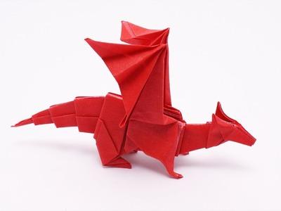 Origami DRAGON - How to make a Dragon - Origami Club - Jo Nakashima
