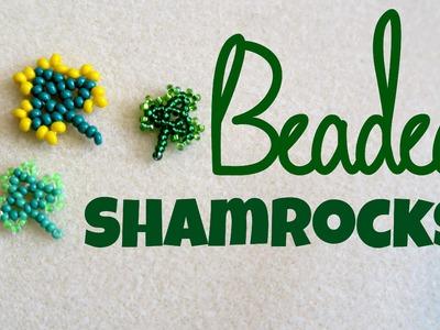 DIY Bead Shamrock St Patrick's Day. Bead Weaving. ¦ The Corner of Craft