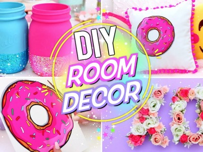 DIY BRIGHT & FUN ROOM DECOR! Pinterest Room Decor for Spring!