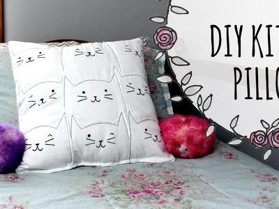 DIY Cat Lover's Pillow
