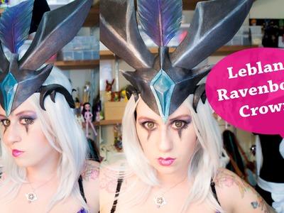 DIY - Coroa Leblanc - League of Legends - Cosplay - Ravenborn - Head Piece
