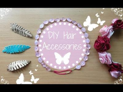 ✿ ❀ DIY Easy Hair Accessories ❀ ✿