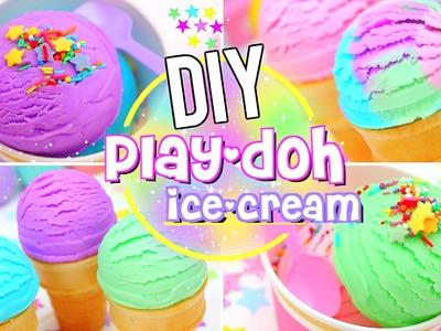 DIY Edible PLAY DOUGH ICE CREAM!