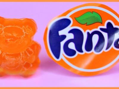 DIY FANTA SODA GUMMY BEARS! How To Make Fanta Soda Gummy Bears!
