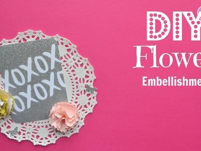 DIY Flower Embellishment - Build Your Stash #5