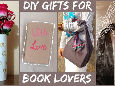 DIY Gift Ideas for BOOK LOVERS!!! Harry Potter | Divergent |
