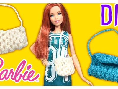 DIY - How to Make a Barbie Doll Bag - Barbie Tutorial - Making Kids Toys